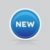Nuevo vector del botón Fotos de archivo libres de regalías