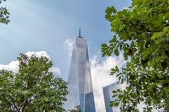 Nuevo WTC Fotografía de archivo libre de regalías