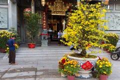 Nuevo yaer chino en Saigon Imagen de archivo libre de regalías