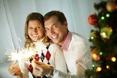 Nuevo Year'€™s Eve Foto de archivo libre de regalías
