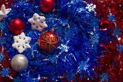 Nuevo year& x27; fondo de s Foto de archivo libre de regalías
