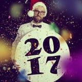 Nuevo Year& x27; partido de s Fotografía de archivo libre de regalías