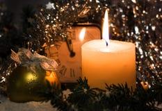 Nuevo Year& x27; plantilla de los saludos de s Foto de archivo libre de regalías
