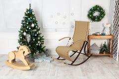 Nuevo Year& x27; s e interior de la Navidad Fotos de archivo libres de regalías