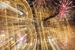 Nuevo Year& x27; s Eve en Berlín Fotos de archivo libres de regalías