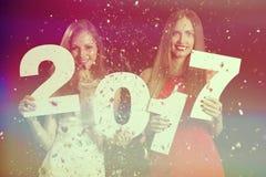 Nuevo year& x27; víspera de s Foto de archivo libre de regalías