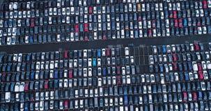 Nuevos aparcamiento y camión Imágenes de archivo libres de regalías