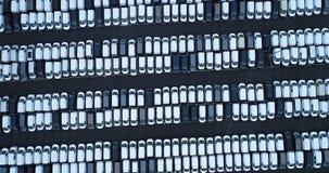 Nuevos aparcamiento y camión Fotografía de archivo