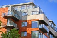 Nuevos apartamentos Foto de archivo libre de regalías