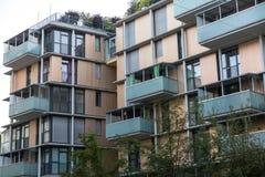 Nuevos apartamentos Fotografía de archivo libre de regalías