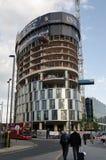Nuevos apartamentos bajo construcción, Stratford Fotografía de archivo libre de regalías