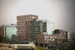 Nuevos apartamentos modernos Fotografía de archivo libre de regalías