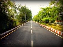 Nuevos caminos; Nuevas roderas Fotos de archivo