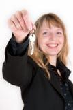 Nuevos claves Imagen de archivo libre de regalías