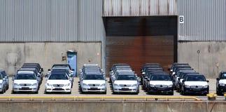 Nuevos coches Fotografía de archivo libre de regalías