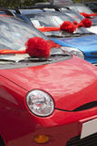 Nuevos coches Imagenes de archivo