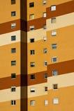Nuevos colores de una casa del panel Fotografía de archivo libre de regalías