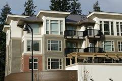 Nuevos condominios de las residencias Imagen de archivo libre de regalías
