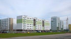 Nuevos distritos residenciales Imagen de archivo
