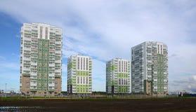 Nuevos distritos residenciales Foto de archivo