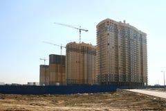 Nuevos edificios Foto de archivo libre de regalías
