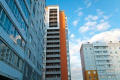 Nuevos edificios Foto de archivo