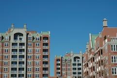 Nuevos edificios Imagen de archivo