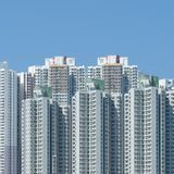 Nuevos edificios de Hong-Kong Fotografía de archivo