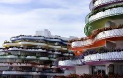 Nuevos hogares en Ibiza Imagen de archivo libre de regalías