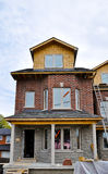 Nuevos hogares para la venta Fotografía de archivo libre de regalías