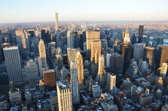 Nuevos Jork edificios de Manhattan fotografía de archivo libre de regalías