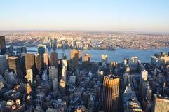 Nuevos Jork edificios de Manhattan fotos de archivo libres de regalías