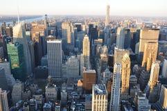 Nuevos Jork edificios de Manhattan foto de archivo libre de regalías