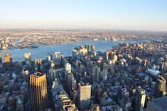 Nuevos Jork edificios de Manhattan fotografía de archivo
