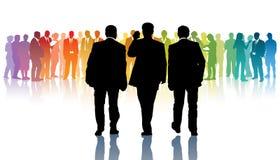 Nuevos líderes stock de ilustración
