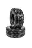 Nuevos neumáticos Fotos de archivo libres de regalías