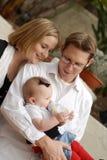Nuevos padres Foto de archivo