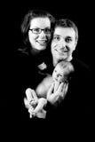 Nuevos padres monótonos imágenes de archivo libres de regalías