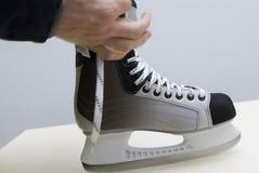 Nuevos patines Foto de archivo libre de regalías