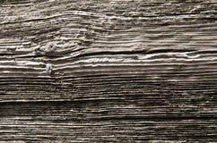 Nuevos tableros acanalados de madera con Fotografía de archivo libre de regalías