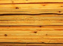 Nuevos tableros de madera Imagen de archivo