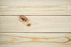 Nuevos tablones limpios de la madera de la picea y de pino - fondo texturizado Foto de archivo