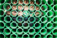 Nuevos tubos Fotos de archivo libres de regalías