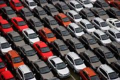 Nuevos vehículos de las mercancías de la fábrica de Changan Fotografía de archivo