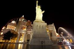 Nuevos York-Nuevos casino y hotel de York Imagen de archivo libre de regalías