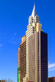 Nuevos York-nuevos casino y hotel de York en Vegas Fotos de archivo