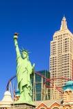Nuevos York-nuevos casino y hotel de York en Vegas Fotos de archivo libres de regalías