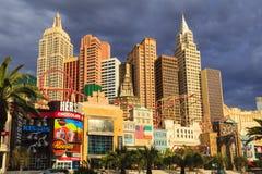 Nuevos York-nuevos casino y hotel de York en Vegas Foto de archivo