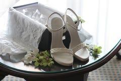 Nuevos zapatos Fotos de archivo