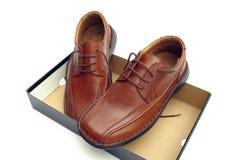 Nuevos zapatos Fotografía de archivo libre de regalías